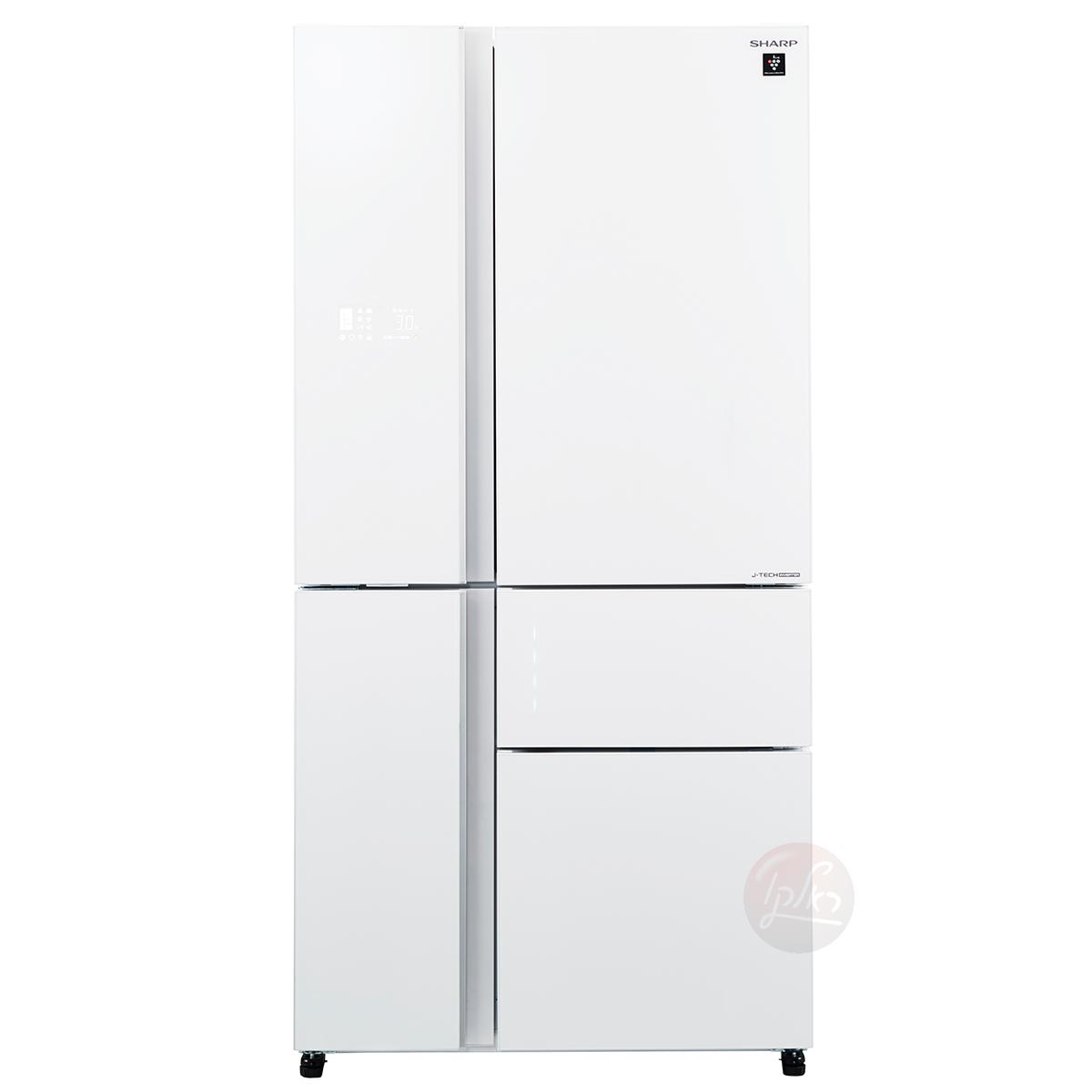SJ-R9732WH/SJ-R9712 מקרר שארפ 5 דלתות